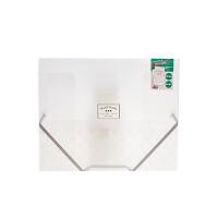 国誉(KOKUYO)FUC920T淡彩曲奇 A3对折松紧带文件盒 考试卷子收纳夹 文件管理夹 透明当当自营