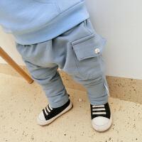 女童婴儿裤子新款女宝宝打底裤5-1-9个月韩版儿童装春秋装