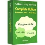正版现货 意英双语词典字典 柯林斯轻松学意大利语全书 英文原版 Collins Easy Learning Itali