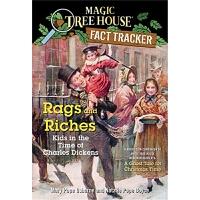 神奇树屋 英文原版 Magic Tree House Fact Tracker #22: Rags and Riches