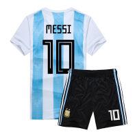 阿根廷球衣2018巴西法国队姆巴佩足球服C罗内马尔梅西儿童足球衣