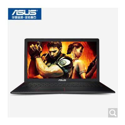 华硕(ASUS) 游戏笔记本电脑 A555QG9620 超薄四核 15.6英寸 学生手提 商务办公 A10 4G内存/500G+128G固态/标配版 A555QG9620  9620 4G 128G      黑银