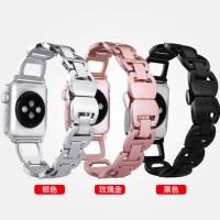 适用iwatch3表带apple watch不锈钢手表带苹果手表链式38mm42表带series1/2/3/代s潮