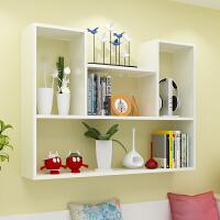 创意墙上置物架免打孔壁挂墙架壁柜墙壁墙面卧室隔板书架现代简约