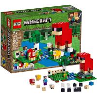 【当当自营】LEGO乐高 我的世界系列 21153 彩色羊毛农地