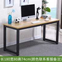 简易电脑桌书桌时尚现代简约办公桌台式家用学生简易写字台可定制