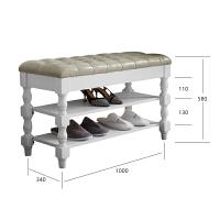 实木换鞋凳家用进门换鞋柜超窄床尾凳换鞋收纳储物凳子玄关凳