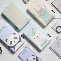新品 �有脑�创 文艺童沐森林移动电源8000 聚合物锂离子电芯 可爱创意充电宝礼物套装 苹果 安卓 移动电源
