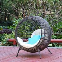 ailvju 创意家具吊椅吊篮藤沙发 儿童秋千藤椅室内阳台户外鸟巢椅