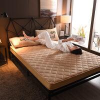 床垫1.5m床加厚1.8m超厚一米二双人1米5席梦思1米2单人一米五1米棕乳胶弹簧席梦思Y 高回弹-6厘米 咖啡色普通款