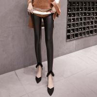 皮裤 女士个性PU加绒皮裤2020秋季新款韩版时尚女式休闲洋气打底裤女装铅笔裤