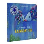 晚安小彩虹鱼 英文原版 Good Night, Little Rainbow Fish Rainbow Fish No