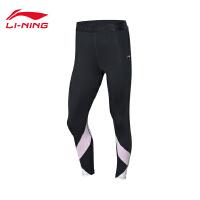 李宁迪士尼米奇联名款运动裤女士2020新款夏季紧身运动长裤