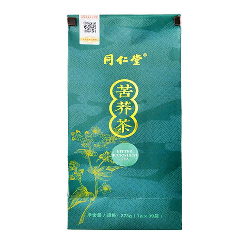 同仁堂 苦荞茶 273克(7g*39袋) 保健食品不具有疾病预防、治疗功能,本品不能代替药物