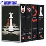 暮光之城 英文原版小说 Twilight Saga 美国电影原著小说 斯蒂芬妮 梅尔 Twilight/New Moo