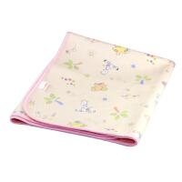 【当当自营】miniPOKO 婴幼儿竹纤维尿垫(双面加厚大号粉色)