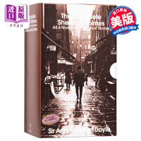 【中商原版】福尔摩斯探案全集英文原版小说 青少年小说 英文版 侦探小说 Sherlock Holmes福尔摩斯英文原版书 进口小说原版书 侦探悬疑推理珍藏全2册全套一起破案卷福夏洛克 柯南道尔