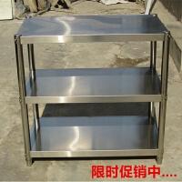 厨房置物架微波炉架3层收纳储物架不锈钢落地家用不锈钢货架定做4