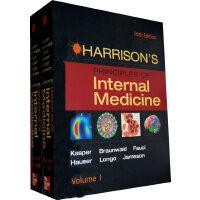 HARRISON'S PRINCIPLES INT MED 16E 2 VOL SET哈里森内科学 第16版 上下卷