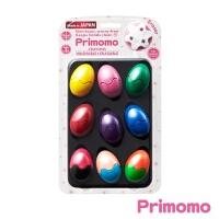 Primomo 日本进口儿童安全无毒蜡笔 彩蛋12色当当自营