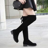 雪地靴女童过膝靴加绒儿童长筒靴女孩子高筒靴女童单靴春秋款