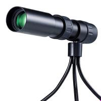 高清单筒望远镜 高倍率夜视微光非户外旅游演唱会便携伸缩10-90变焦望眼镜