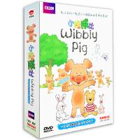 BBC小猪威比52集 精装13DVD儿童动画片早教动漫 中英双语正版