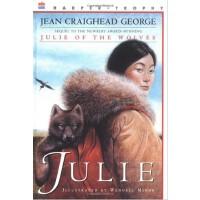 Julie of the Wolves 狼群中的朱莉(1973年纽伯瑞金奖) ISBN9780064400589