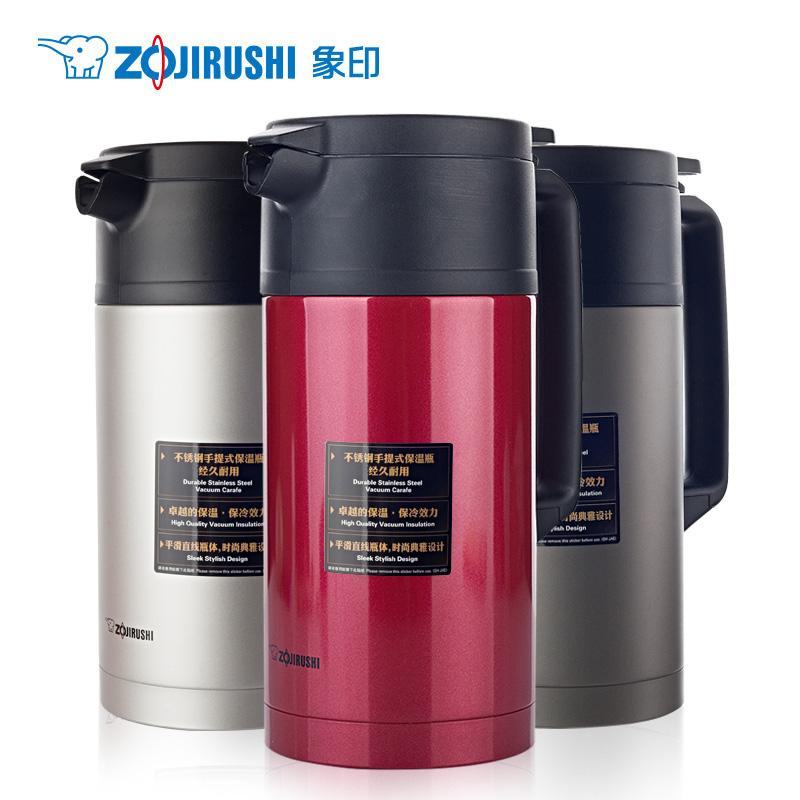 日本象印进口保温壶家用SH-JAE18 热水壶不锈钢保温瓶 1800ml 新品上市 原装进口 泰国生产 大容量1.8L