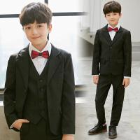儿童西服套装小西装男童西装花童礼服韩版中大童男孩钢琴演出服夏