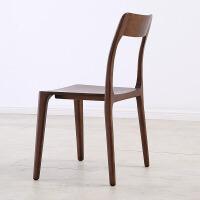 北欧全实木餐椅现代简约用椅创意白蜡木餐椅靠背椅餐厅凳子