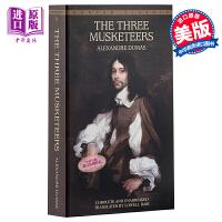 【中商原版】三个火枪手英文原版小说 英文版The Three Musketeers英文原版书 三剑侠 大仲马 世界经典