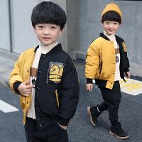 童装男童棉袄冬装儿童男孩短款棉袄冬季帅气外套