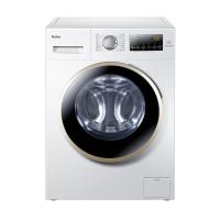 Haier/海尔[官方直营] 海尔滚筒洗衣机 EG8012B39WU1 变频节能 ABT双喷淋去除污渍泡沫 除菌洗配合消毒液深层消毒 羊毛洗 安心童锁