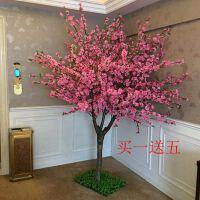 假树仿真桃花树仿真樱花树许愿树梅花树大堂酒店商场摆设装饰