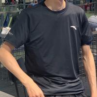 【到手价79】 安踏短袖T恤男 夏季官方轻薄透气速干体恤跑步运动上衣152025119