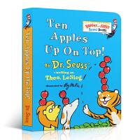 限时秒杀 Bright and Early Board Books系列 Ten Apples Up on Top!苏斯