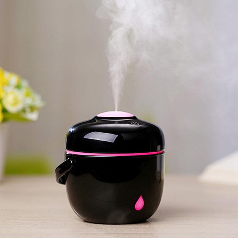 创意加湿器迷你 电饭煲加湿器家用香薰加湿器小加湿器usb空气净化器生日礼物