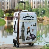 行李箱包拉杆箱万向轮28寸男女旅行箱小清新学生密码箱24登机皮箱 乳白色 白色美女