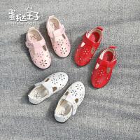 儿童女春女童单鞋休闲鞋公主表演鞋洞洞鞋学生鞋