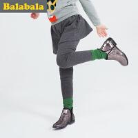 巴拉巴拉童装女童长裤小童中大童裤子2016冬装新款儿童童裤女