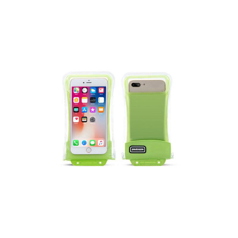 手机防水袋潜水套触屏苹果8x华为水下拍照气囊游泳小米通用