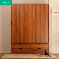 移门推拉门衣柜简约现代简易板式衣柜柜整体组合