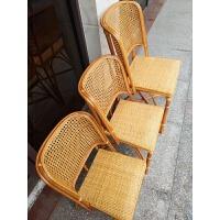 天然藤椅小藤椅椅老人休闲椅软面椅靠背椅子学生椅家用