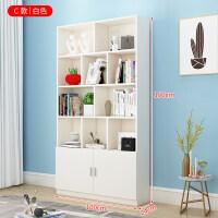实木书架书柜客厅书橱简约经济型简易落地置物架省空间收纳柜