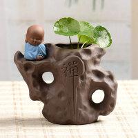 创意水培植物花瓶简约桌面花盆风信子水养绿萝 插花瓶摆件