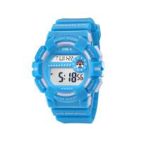 儿童手表女孩男孩防水夜光小学生韩版简约时尚闹钟电子手表