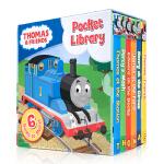 顺丰发货 英文原版 Thomas and Friends Pocket Library 托马斯与朋友小小图书馆 6册手