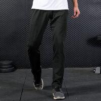 运动裤男宽松透气跑步长裤大码收口直通束脚收腿男裤裤子