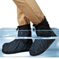 雨鞋套防水男女成人防雨加厚防滑耐磨底 下雨天户外高筒鞋套